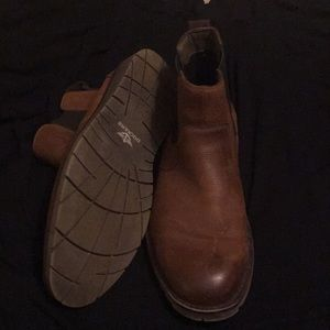 Men's Leather Dockers Brand Slip on Boot